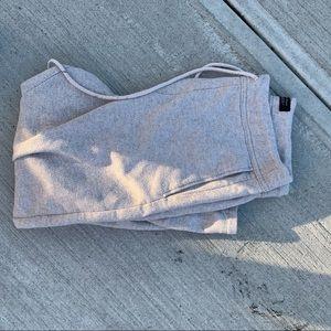 Zara cropped sweatpants